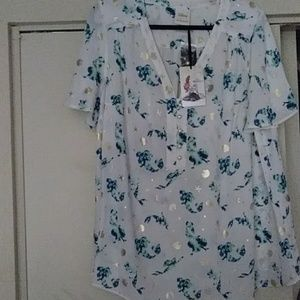 """Ariel """"Her Universe"""", blouse. Brand new w/tags."""